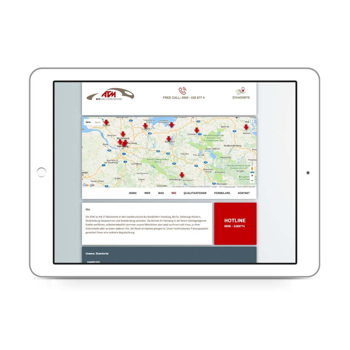 ATM-expert Dipl.-Ing. Staisch GmbH - Standorte