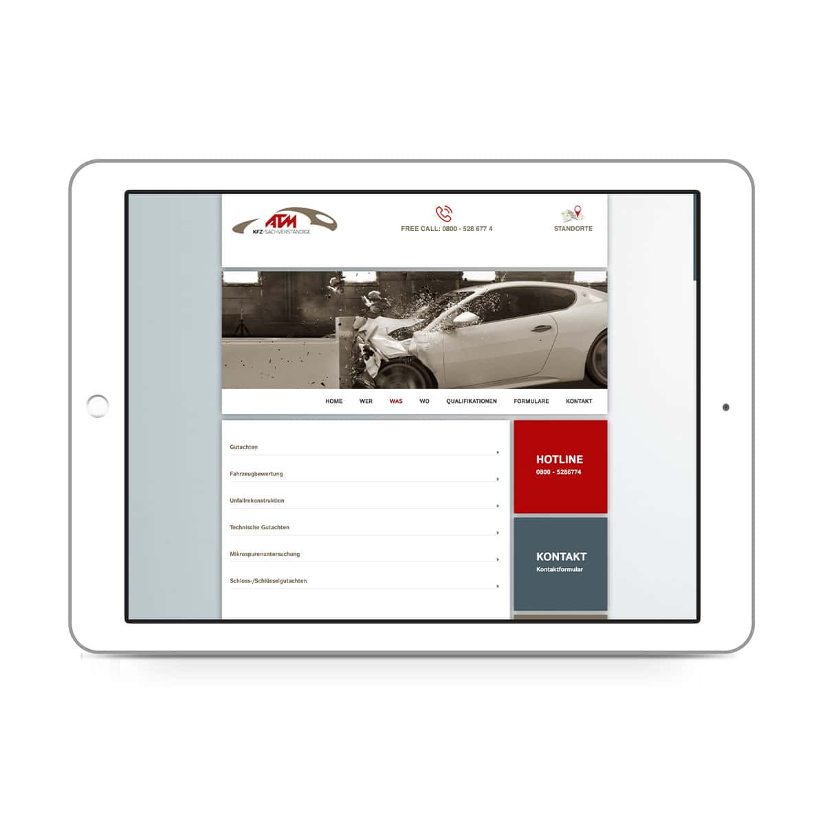 ATM-expert Dipl.-Ing. Staisch GmbH - Leistungen