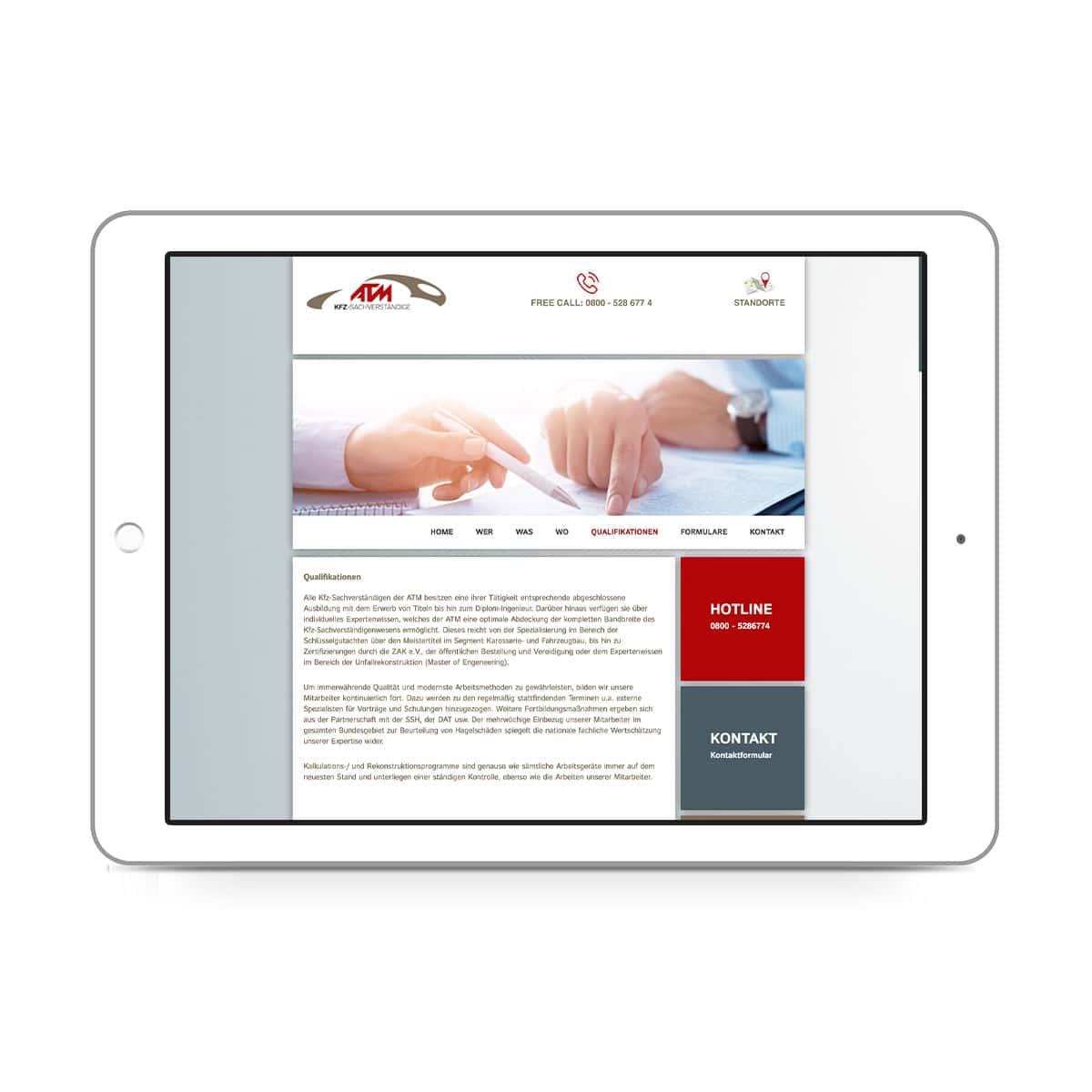 ATM-expert Dipl.-Ing. Staisch GmbH - Qualifikationen
