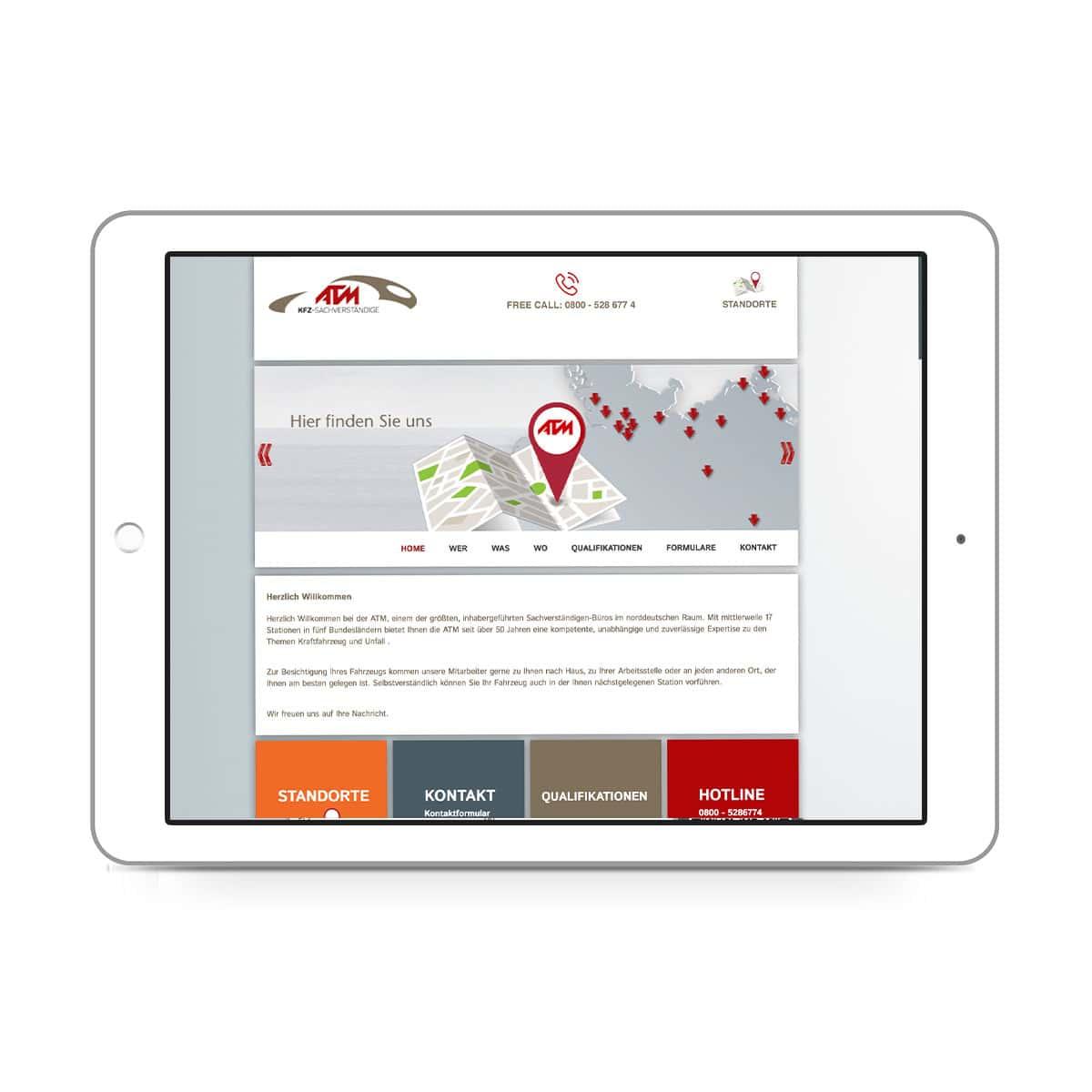 ATM-expert Dipl.-Ing. Staisch GmbH - Standorte Slider